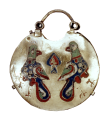 Temple Pendant (Kolt) with Two Birds99